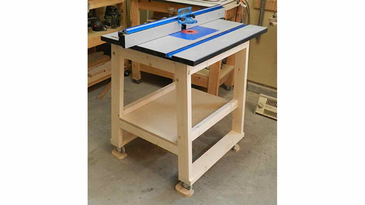 Workshop How -To Build a DIY Router Table.