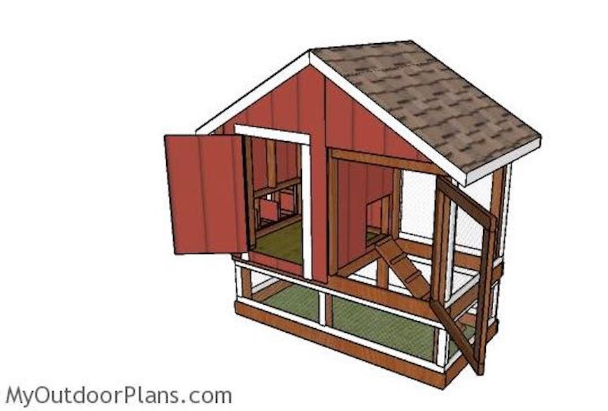 Build a Chicken Coop 4 x 8 Ft.