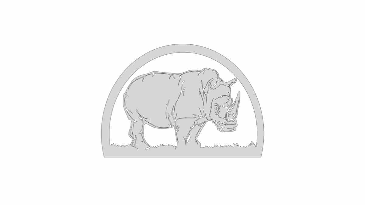 animals,rhinos,fretwork,scroll saws,diy,free woodworking plans,free projects,do it yourself