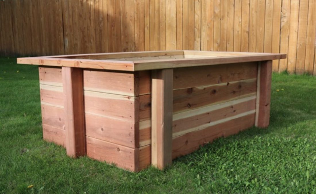 Free plans to build a Raised Garden Bed 4 x 6 Ft.