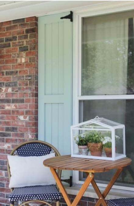 Free plans to build Exterior Shutters.