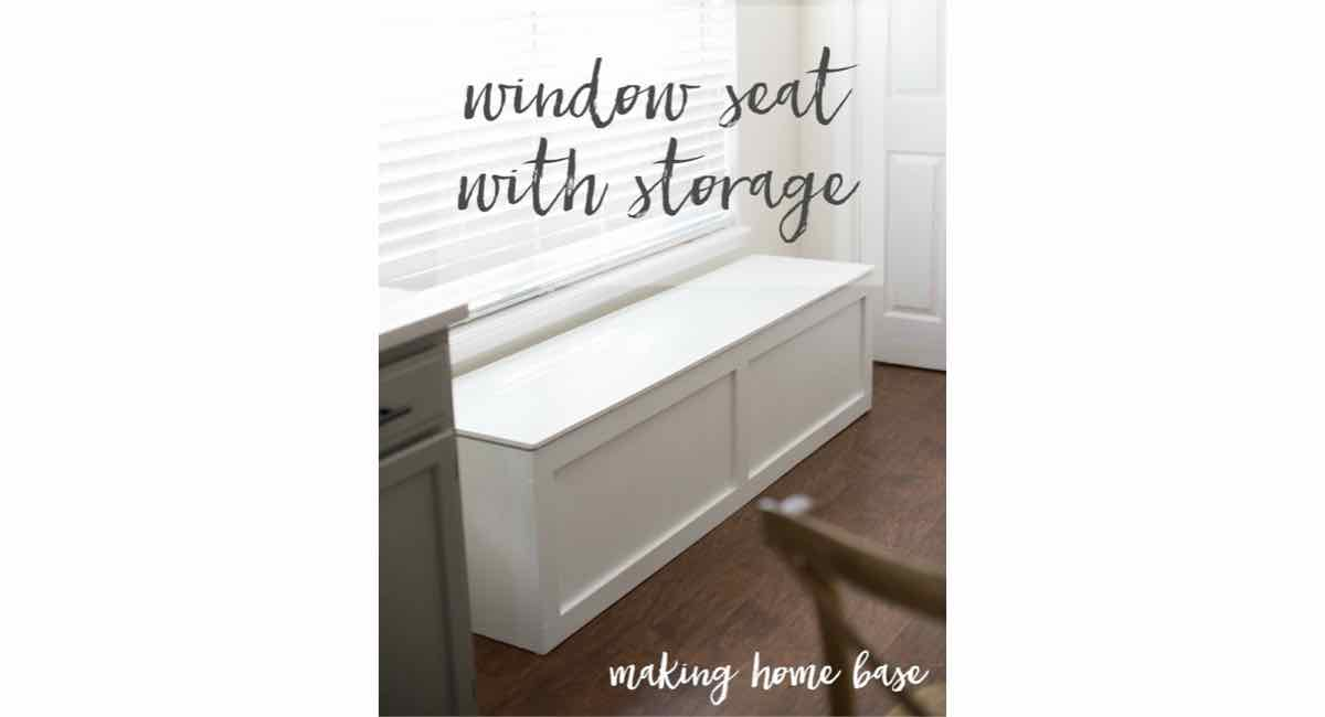 window seats,storage,diy,free woodworking plans,free projects,do it yourself