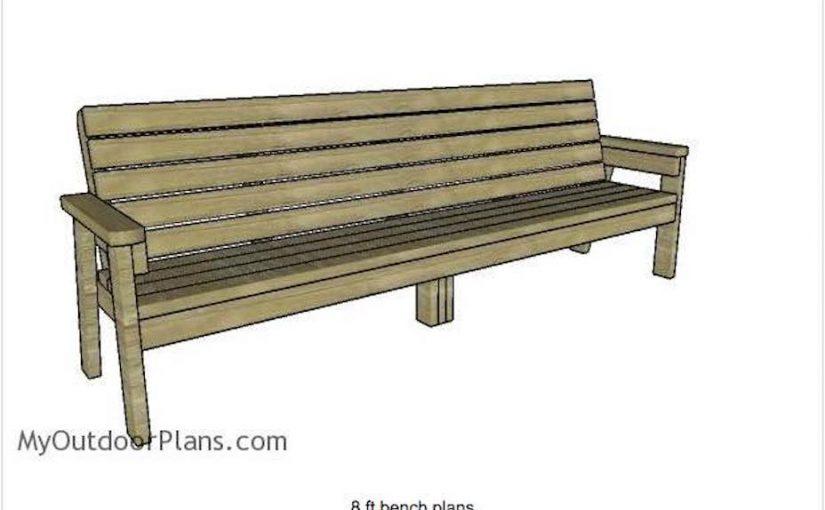 8 Foot Bench