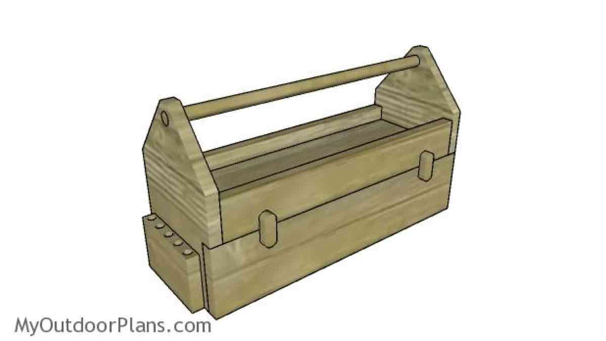 How to build a Toolbox with Drawers.