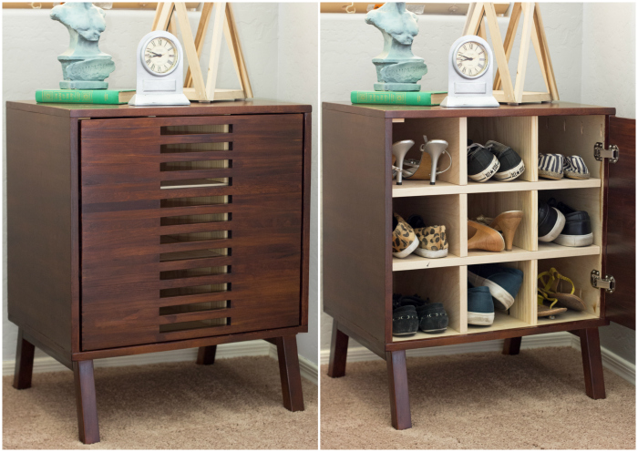 Nightstand Shoe Cabinet