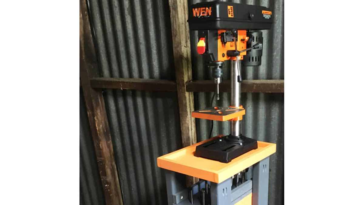 drill press cart,free woodworking plans,workshop projects,do it yourself