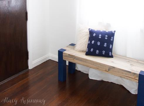 Free plans to build an indoor Bench.