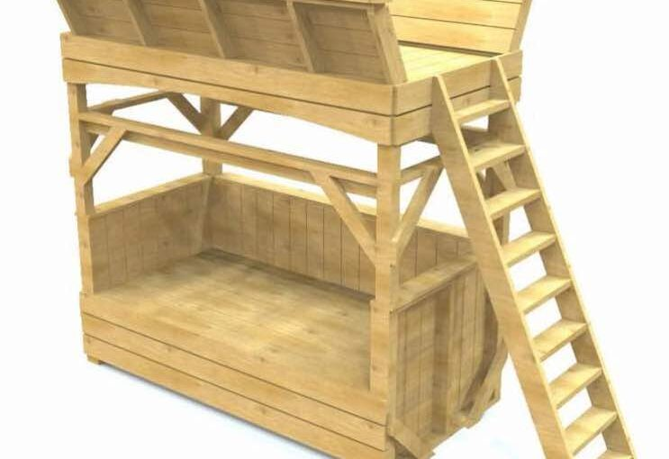 Bench and Loft Bed PDF