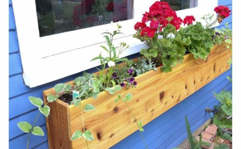 window boxes,planter boxes,flower boxes,diy,free woodworking plans,free projects,do it yourself