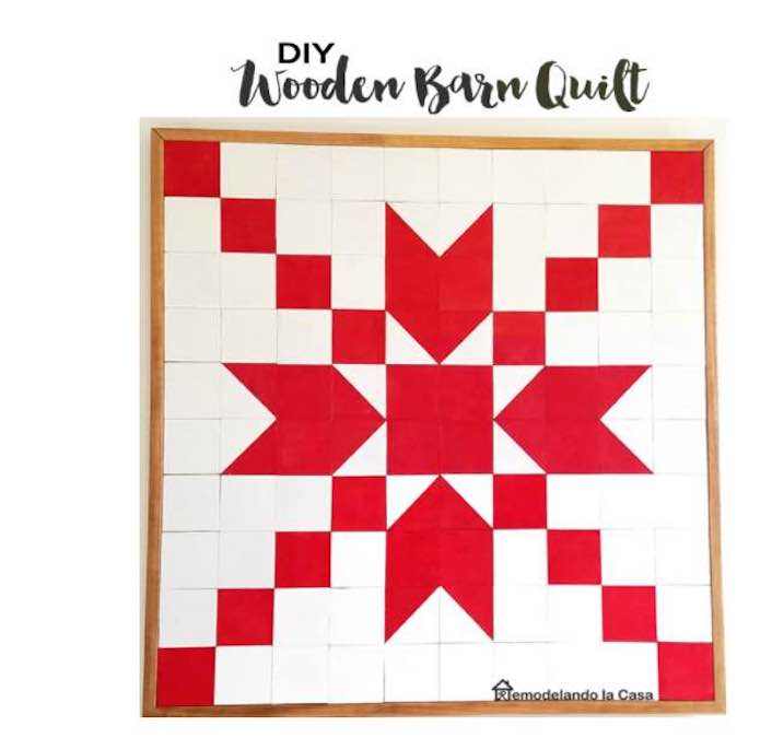 Free plans to build your own Barn Quilt Wooden.