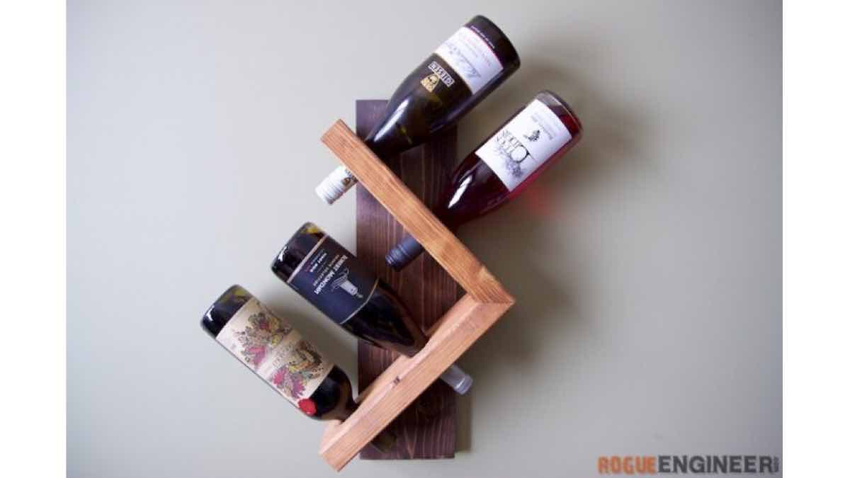 wine racks,wall mounted,wine bottle holders,diy,free woodworking plans,free projects,do it yourself