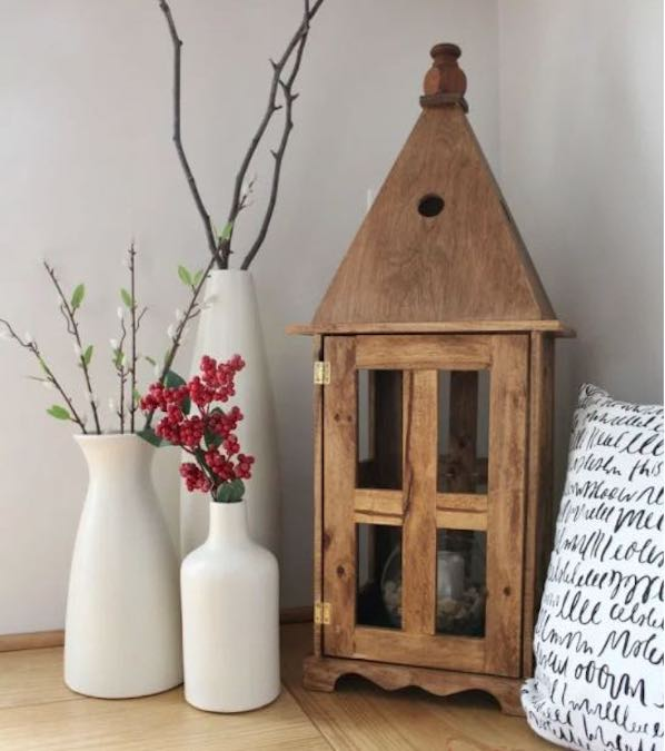 Free plans to build a Lantern House.