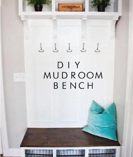 Free plans to build a Built In Bench.