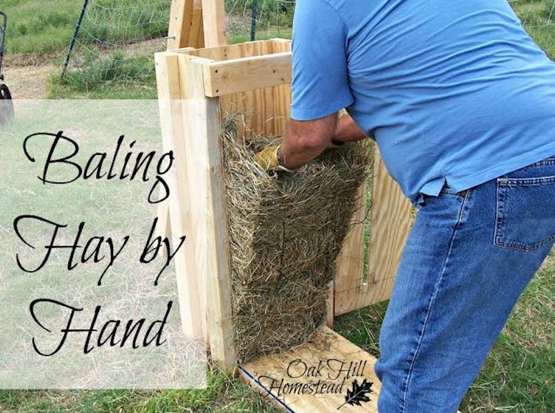 Free plans to build a Hand Baler for Hay.