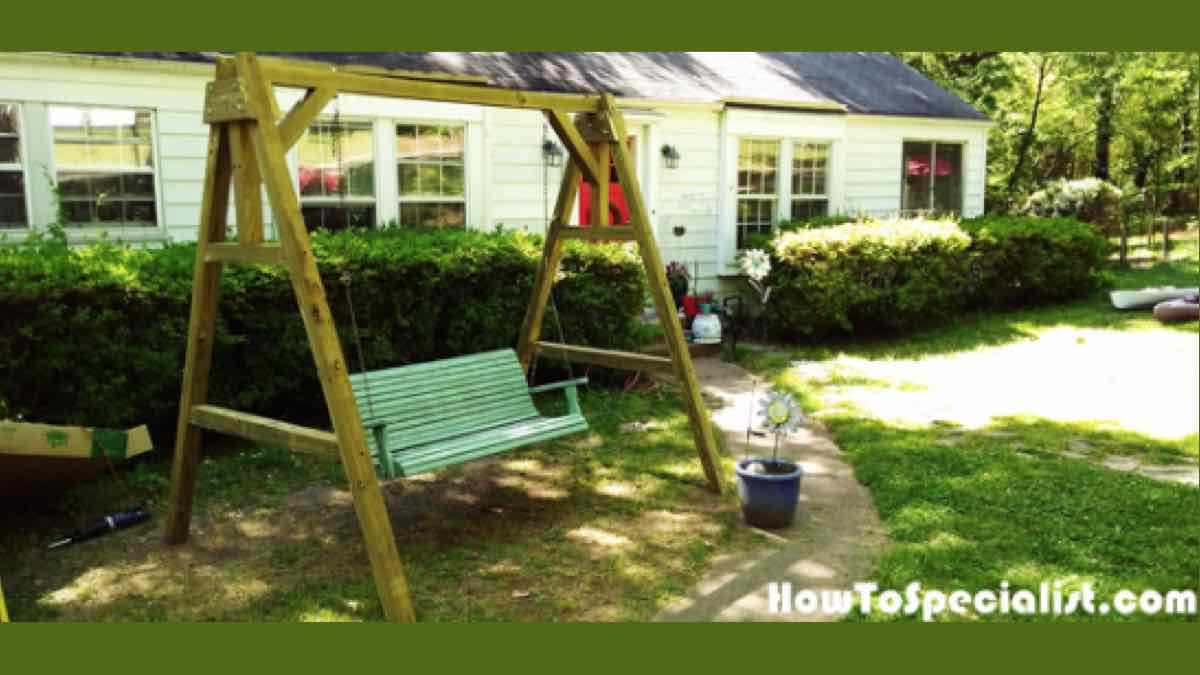 How to build an A-Frame Swing