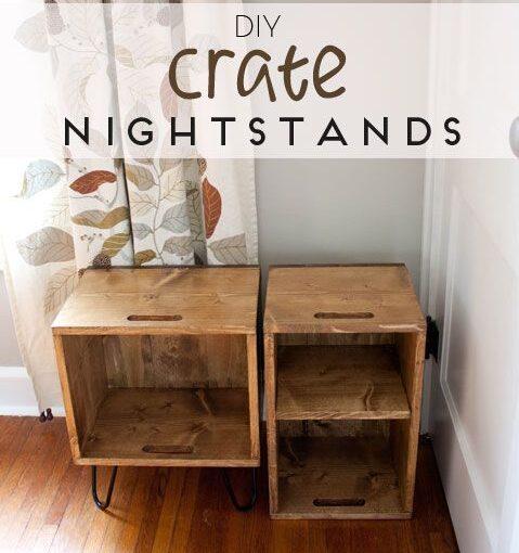 Crate Nightstands