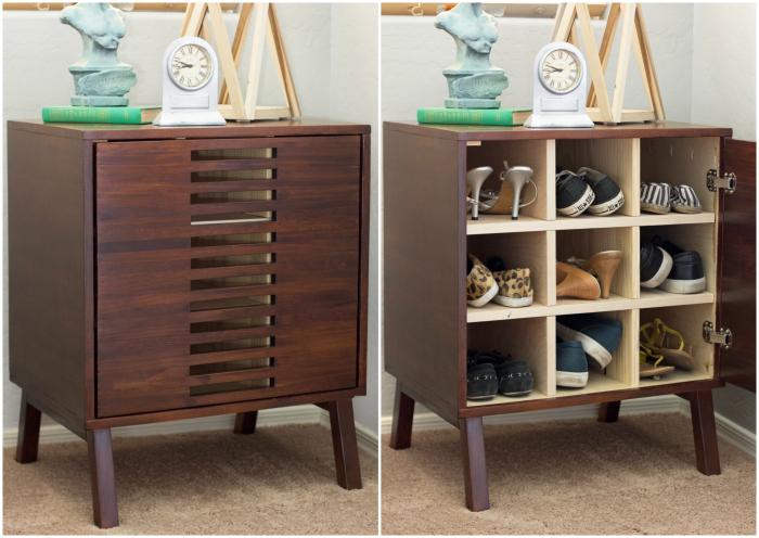 Dresser with Bookshelves