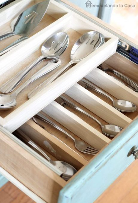 Build a Double Layer Drawer Organizer using free plans.