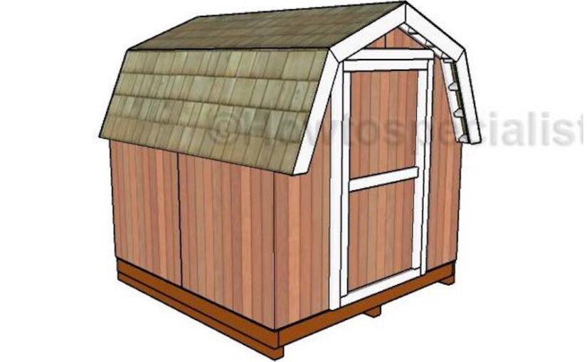 Mini Barn Shed
