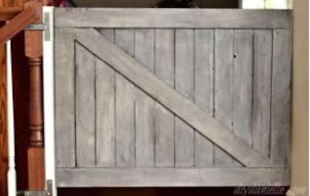 Farmhouse Pet Gate
