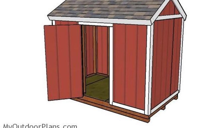 6 x 10 Shed
