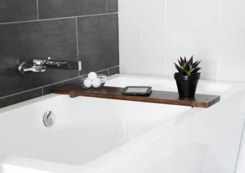 Build a Bathtub Tray with these free plans.