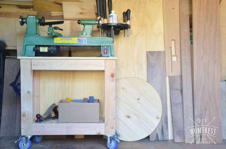 Mobile Lathe Stand
