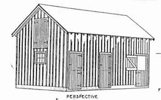 Free plans to build a General Barn.