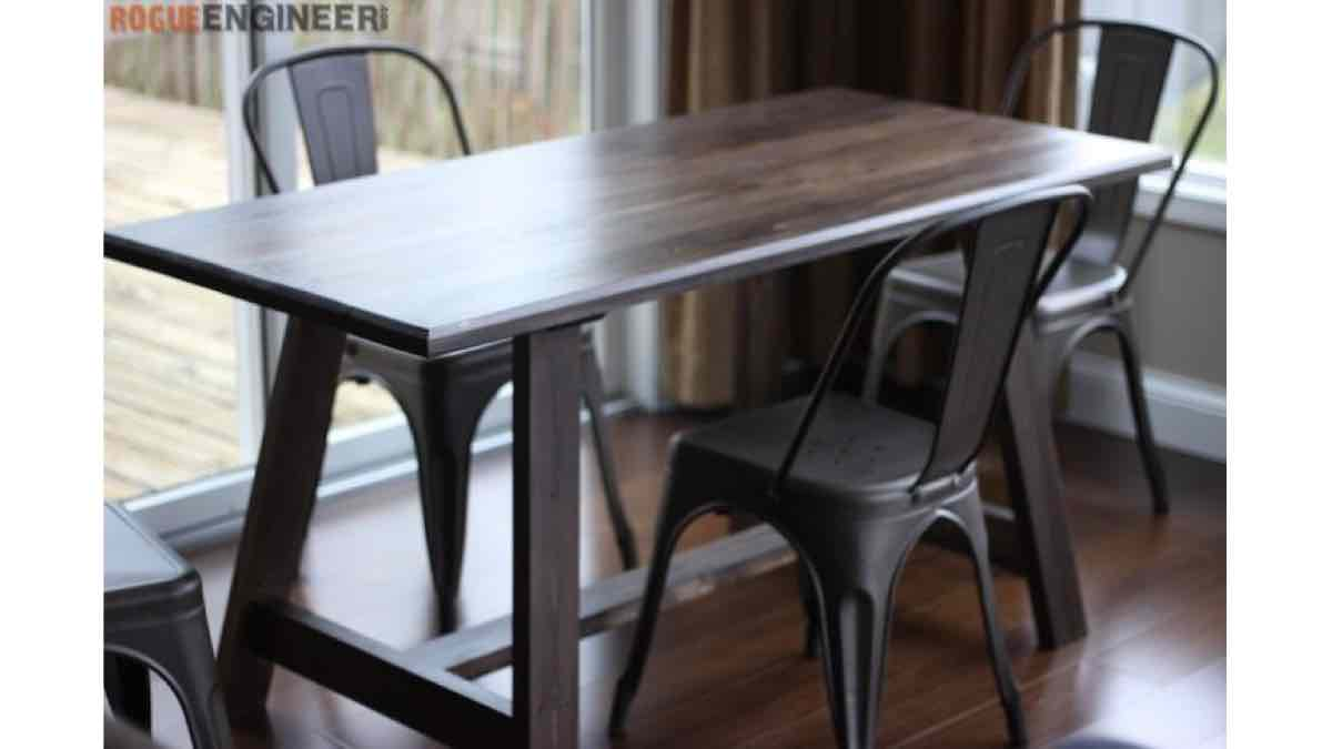 dining tables,kitchen tables,furniture,diy,free woodworking plans,free projects,do it yourself
