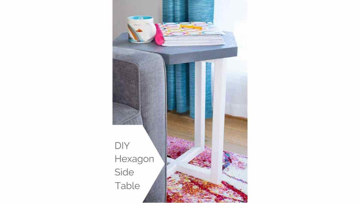six sided tables,hexagons,side tables,end tables,diy,free woodworking plans,free projects,do it yourself,furniture
