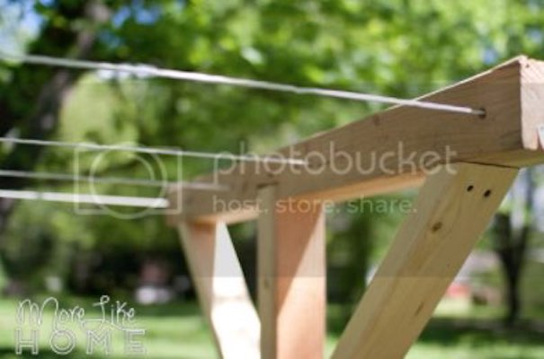 Free plans to build your own Clothes Line Posts.