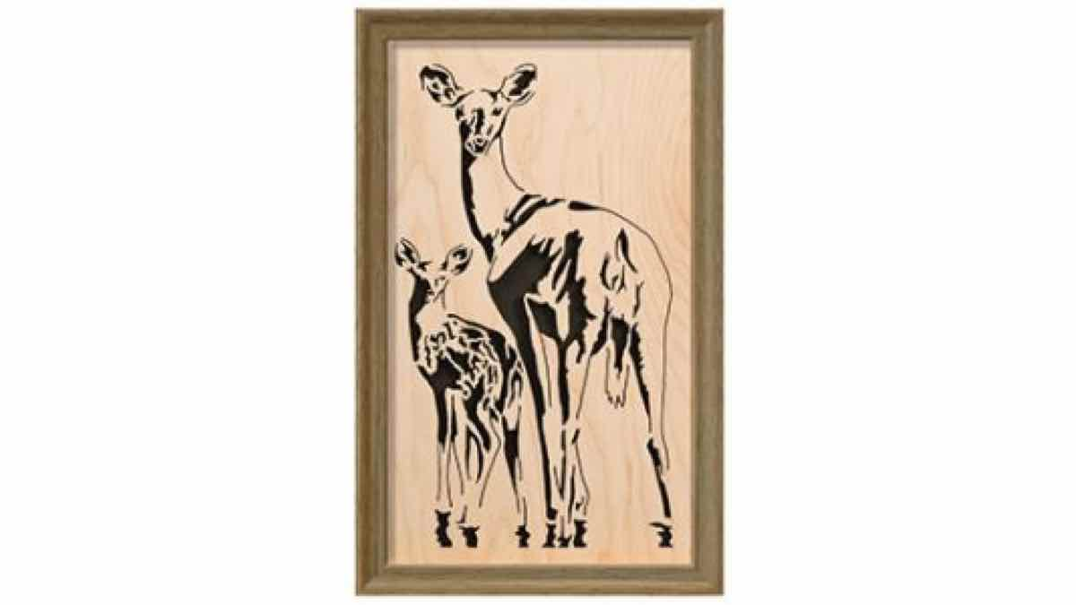 scroll saws,deer,diy,free woodworking plans,free projects,do it yourself