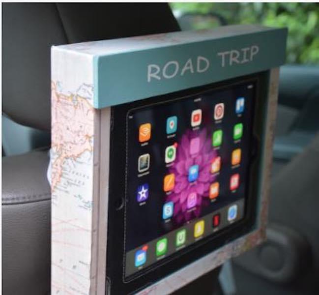 Build a Tablet Holder For Car Rest.