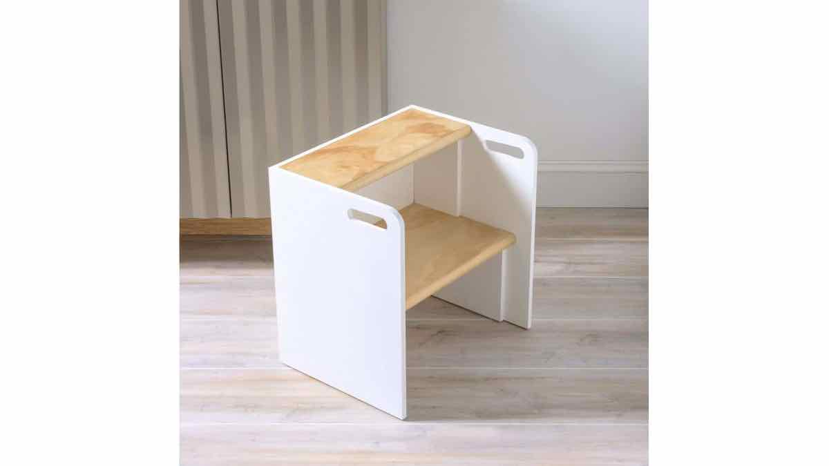 step stool chair,diy,free woodworking plans,free projects,do it yourself