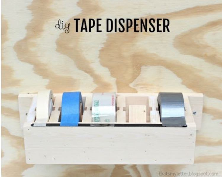 Free plans to build your own Tape Dispenser PDF.