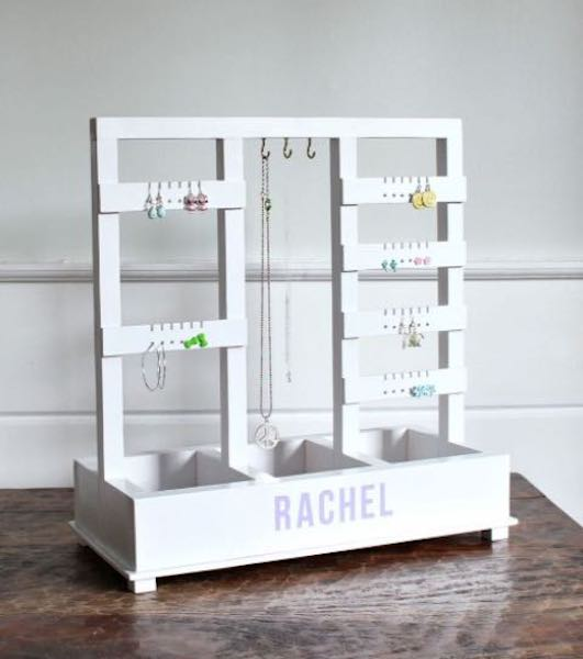 Free plans to build this Jewelry Holder.