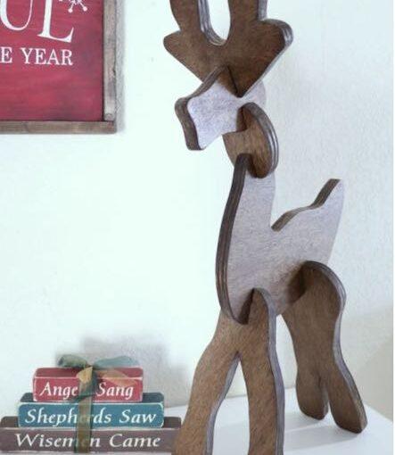 Tabletop Reindeer