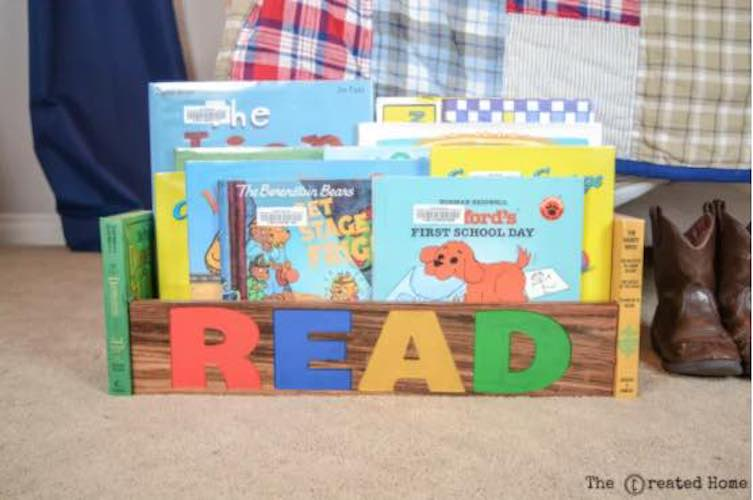 Build a Book Box using free plans.