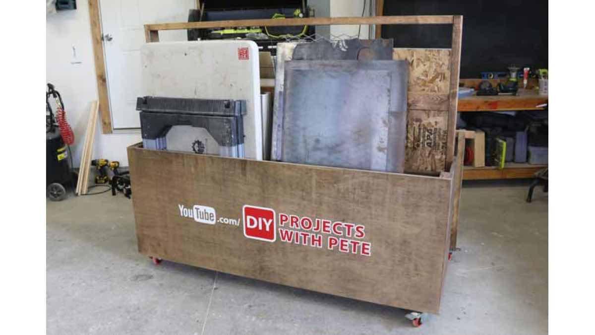 How to build a lumber cart