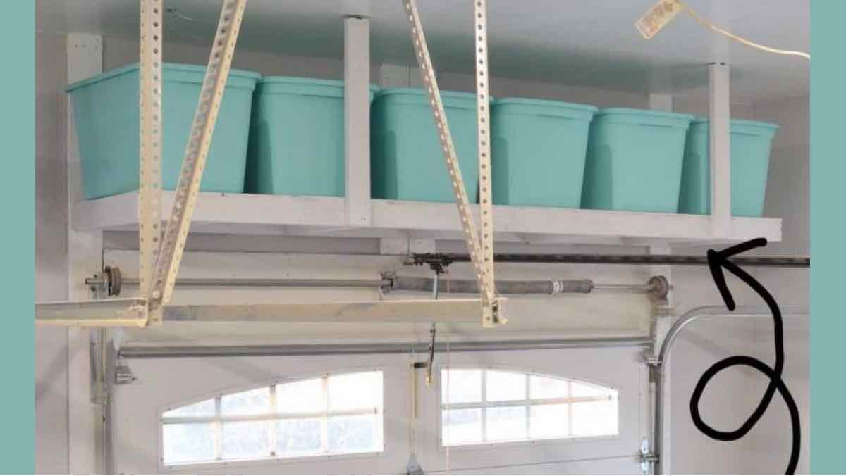 garage shelving,storage shelving,diy,free woodworking plans,free projects,do it yourself