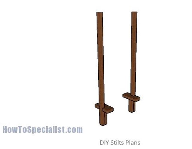 Build your own Stilts using free plans.