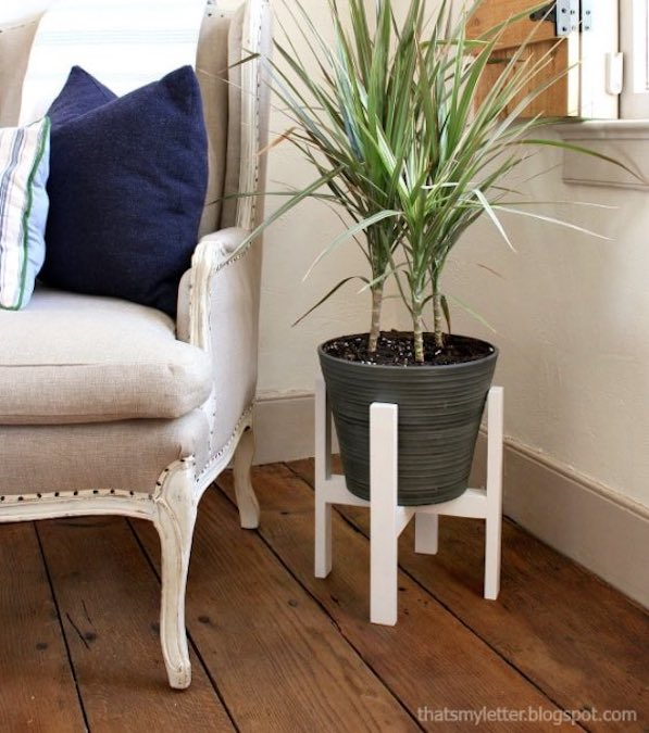 Free plans to build this plant stand.