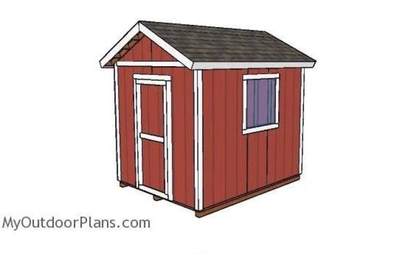 Shed 8 x 10
