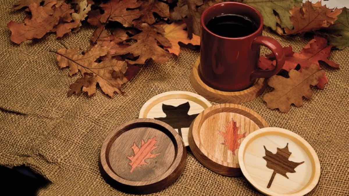 coasters,inlay,scroll saws,diy,free woodworking plans,free projects,do it yourself