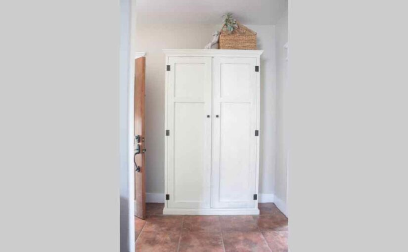 Craft an Entryway Armoire