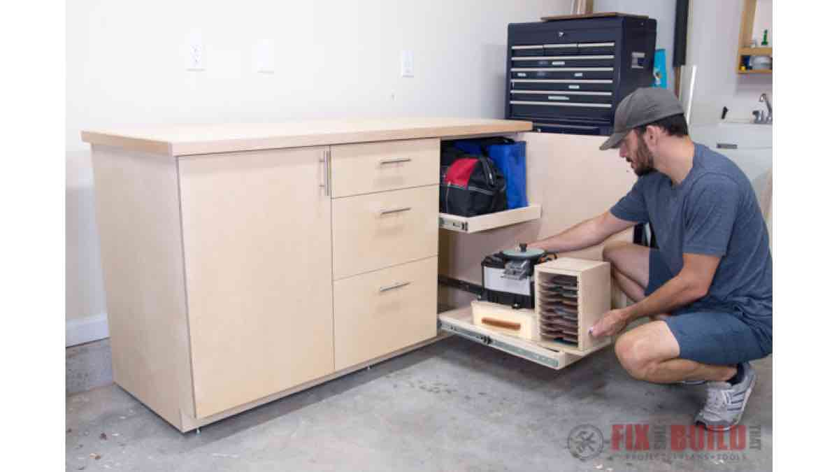 Base Cabinet with Drawers free project