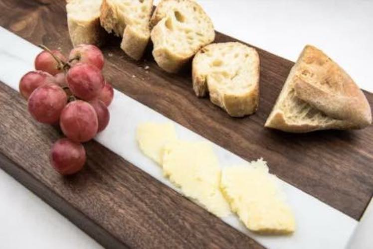 Build a Bread and Cheese Board using free plans.