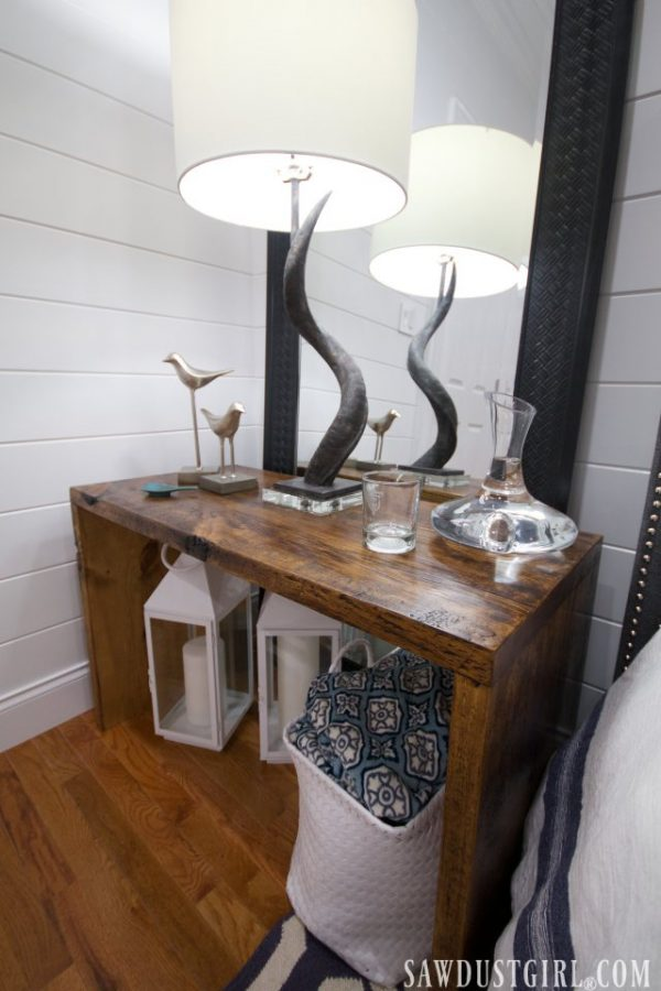 Free plans to build Nightstand Tables.