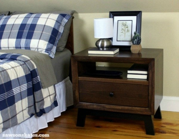 Build a Nightstand with these free plans.