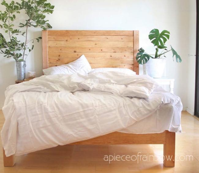 Bed Frame and Headboard free plan